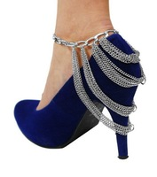 Retail F02  Fashion Shoe Anklet Body Chain Foot Jewellry Fashion Jewelry