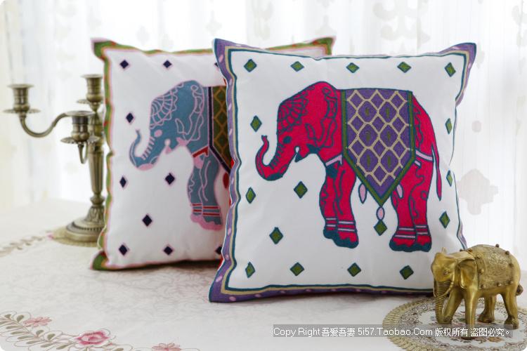 País da américa Original presente de inauguração algodão fronha travesseiro almofada do sofá(China (Mainland))