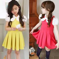 Hot Baby girl dress childrens summer kids girl princess lovely dress girls dress lady dress 200pcs/lot