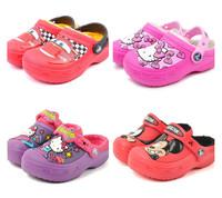 Hot-Sale 3D Clog Croc-Shoes Kids Unisex Winter Slipper US Size C6/7-C12/13