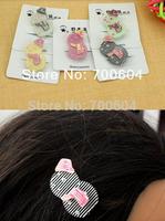 Sale last  2014 New 23pcs/lot Cute Toddler Baby Girl Kid Snowman Alligator Hair Claw Clip hairwear accessories