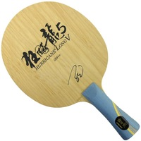 Free Shipping, DHS Hurricane Long V (5 Wooden + 2 Arylate-Carbon) OFF++ Table Tennis Blade for Ping Pong Racket