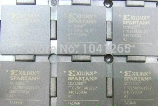 IC CHIP BGAL XILINX IC XC3S200-4FTG256C(China (Mainland))
