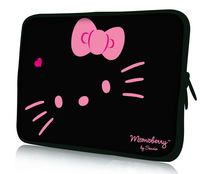 Big clearance sale  hello kitty design 13.3 14.1 15.6 inch Neoprene laptop notebook bag case cover pouch for macbook pro/air