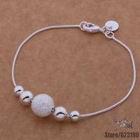 AH019 925 sterling silver bracelet, 925 sterling silver fashion jewelry drip Shrimp buckle /bnhakeoa cztalraa