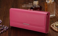 Women's Clutch in Purse Embossed PU Leather Handbags for Female Bolsas Femininas Fashionable Long Section Women Wallets
