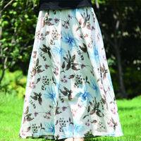 Long Maxi Skirt Saia Longa Skirts Womens Female Winter Print Fashion Skirt Saias Femininas 2014 Saias Spring New 2014 Summer