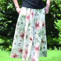 Long Skirt Saia Longa Skirts Womens Female Maxi Winter Print Fashion Skirt Spring New 2014 Summer Saias Femininas 2014 Saias
