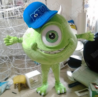 Popular adult monsters university mascot costume mike monsters university sully mike mascot mascot costume free shipping
