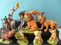 9 PCS 5~9CM High  The Lion King Action Toys Figures PVC Cartoon Anime Figures WA0154
