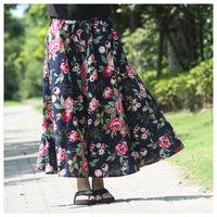 Maxi Skirts Womens Saias Long Skirt Spring New 2014 Summer Saias Femininas Longa Female Winter Pleated Fashion Skirt 2014 Saia