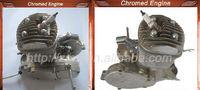 chromed gasoline engine for bicycle/80cc bisiklet motor kiti