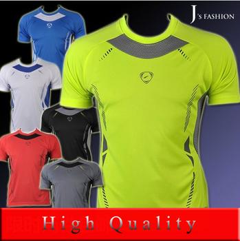 Горячая распродажа 2015 новый мужская дизайнер быстрое высыхание свободного покроя футболки футболки рубашки случайным уменьшают подходящую топы нью футболка размер M L XL XXL