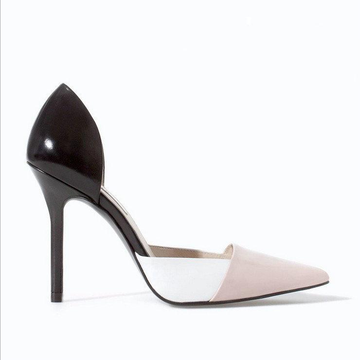 qualitätsmarke frauen Sommer pumpen 2014 neuankömmling spitze high dünne fersen Büro damen sandalen damenschuhe fq115