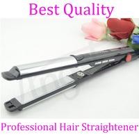 2 IN 1 Professional Hair Straightener&Curler adjustable temperature Hair Styler Chromium plating Straightening Curling Flat Iron