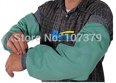FR Clothing FR Sleeves Flame Retardant Welding Aprons FR Cotton sleeve FR Cotton Welding Sleeves(China (Mainland))