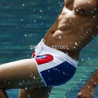 Size XXL! Blue White Cool Men's Boys'  Beach Swimming Swim Trunks Shorts Adjustable Dawstring  Swimwears