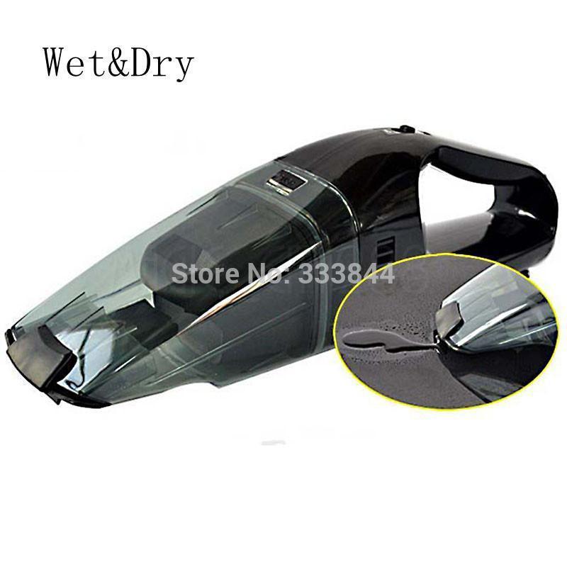 Wholesale 1PC Black Mini Portable Car Vehicle Auto Wet&Dry Canister Vacuum Carpet Floor Portable Car Cleaner Air Pum 12V 60W,CP7(China (Mainland))