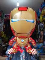 Free shipping gold Iron Man balloon cartoon balloon helium balloon foil balloon party supplies balloon
