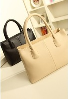 Best Quality 2014 Western Europe Fashion Dress Black and White Hand Bag Handbag Shoulder Bag