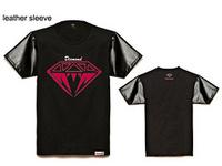 Diamond 2014 Men's fashion Pink Dolphin t-shirt, UNKUT hip hop fashion New style 100%cotton t shirt Kings
