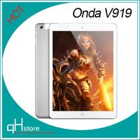 New Original Onda V919 3G  9.7 inch tablet pc quad core 1024x768  MTK8382 6GB Rom IPS  Retina Screen GPS GSM WCDMA 3G Phone Call