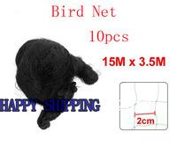 10pcs  2cm x 2cm Diamond Meshy Orchard Plant Anti Bird Net 15M Long