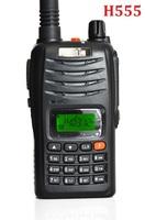 HST H555 powerful 7W Walkie Talkie UHF/VHF dual band radio Interphone Transceiver Two-Way Radio  Portable Handled