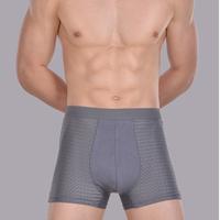 Men's Bamboo fiber Boxer Shorts / Men's Seamless underwear very comfortable size L,XL,XXL,XXXL