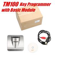 New TM100 Transponder Key Programmer with Basic Module TM100 key programmer Fast shipping