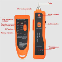 Network Cable Tester Phone LAN Line Wire Tracker Scanning RJ45 RJ11 Cable Test Tracker Cable Network Tool LGDW101