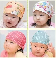 new sale pirate caps baby beanies kids hats/17 colors 5 pcs/lot Cotton lovely Adjustable Infant Skull Head Cap/1-2 Years old/ATY