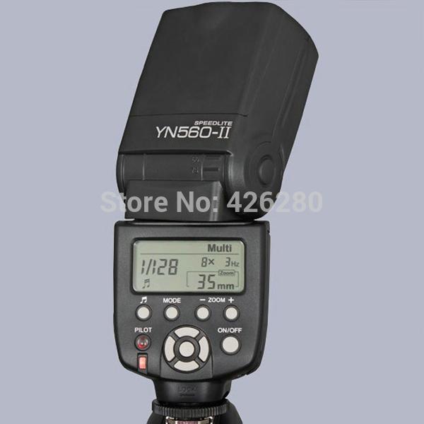 Original Youngnuo Upgrade YN-560II S Flash Speedlite for Sony alpha a900 a200 a100 a290 a230 A77 A65 A57 A850 A55 A33(China (Mainland))