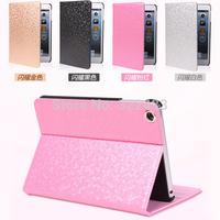 10pcs  Wholesale  Diamond PU Leather Case For iPad Air iPad 5  W/Auto Sleep for Apple Tablet PC case  Free DHL