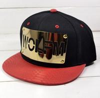 Hot Brand Fashion Snapback For Men Women EXO WOLFM Metal Punk Harajuku Baseball Cap Adjustable Hat Drop Ship SCX125-M0706