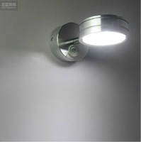 5Watt Led Wall Light , New Aluminum 5Watt Led Wall Lamp For Home Lighting , With Switches  White And Warm White Colors
