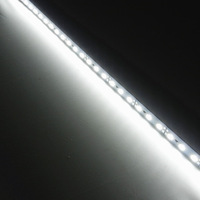 50pcs Super Bright Hard Rigid Bar light DC12V 50cm 36 led SMD 5630 Aluminum Alloy Led Strip light nature white