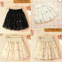 Skirts Womens Tops For Women Winter Derss Spring New 2014 Pleated Chiffon Skirt Saias Femininas Fashion Skirt Female Skirt