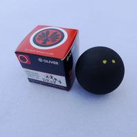 10 pcs Squash ball two yellow dot with retail box