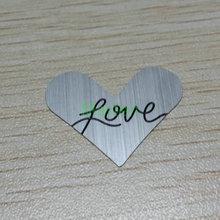 heart shape plate promotion