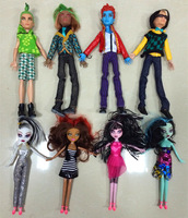 Free shipping Monster high Dolls ,Monster high toys , Best christmas gift , Monster Hight doll 4 pairs lover dolls