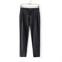 Summer Cheap New Plus Size 2014 Women's Casual Candy Color Pants & Capris Long Trousers palazzo Pant For Women Sweatpants Female