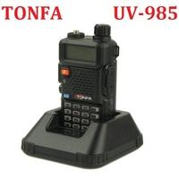 TONFA UV-985 powerful 8W Dual Band walkie talkie VHF+UHF 136-174MHz&400-470MHz Two Way Radio  VOX DTMF