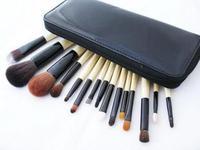 2014new  arrival  15 animal hair makeup brush professional brush set