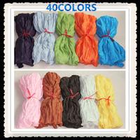 Free shipping 180*90cm big size popular shawls,crumple plain shawls/scarf, new fashion,D232