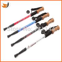 Aluminum alloy straight shank 3 sticks Cork sticks A walking stick nordic walking poles