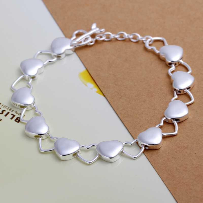 Бесплатная доставка посеребренные браслет ювелирных изделий мода браслет Высокое качество опт и розница SMTH192