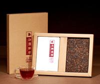 Puer RipeBrick Tea Menghai Old tea tree 2013 Spring Tea Leaves 2pcs in a Box