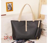 2014 cassic design simple look fashion women's handbags soft pu Leather high quality wholesale price drop ship