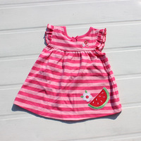 2014 Watermelon tank dress female dress child one-piece dress children
